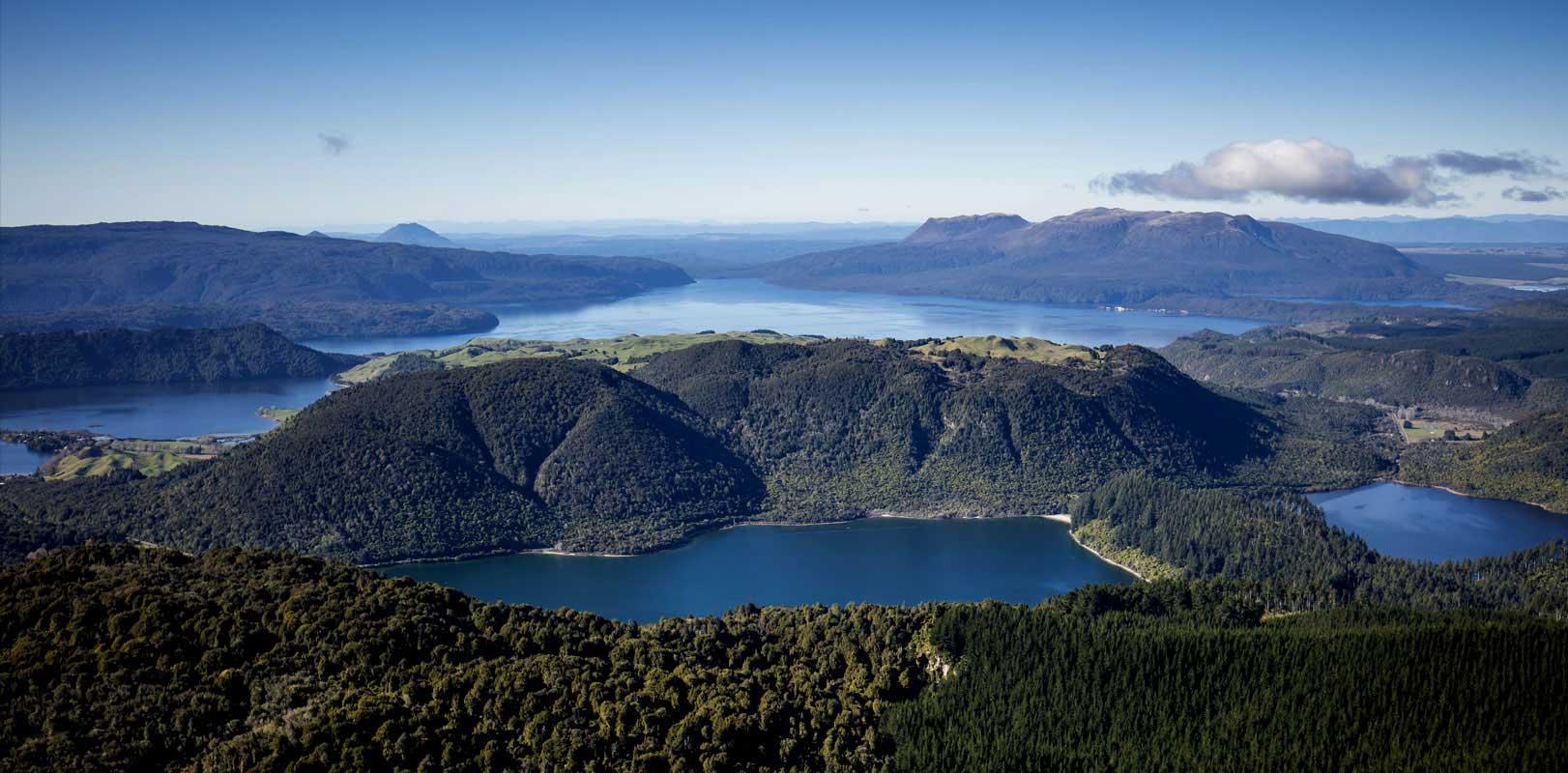 Rotorua crater lakes