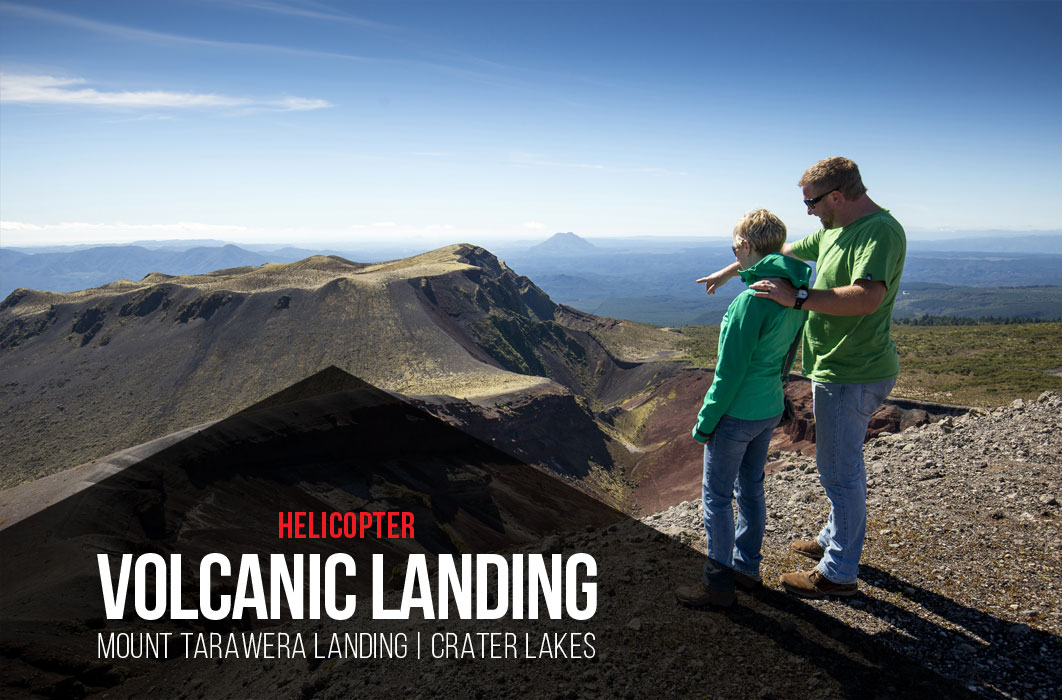 Mount Tarawera Helicopter Rides - Volcanic Air
