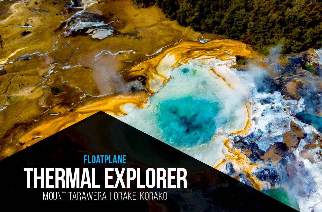 Orakei Korako - Volcanic Air