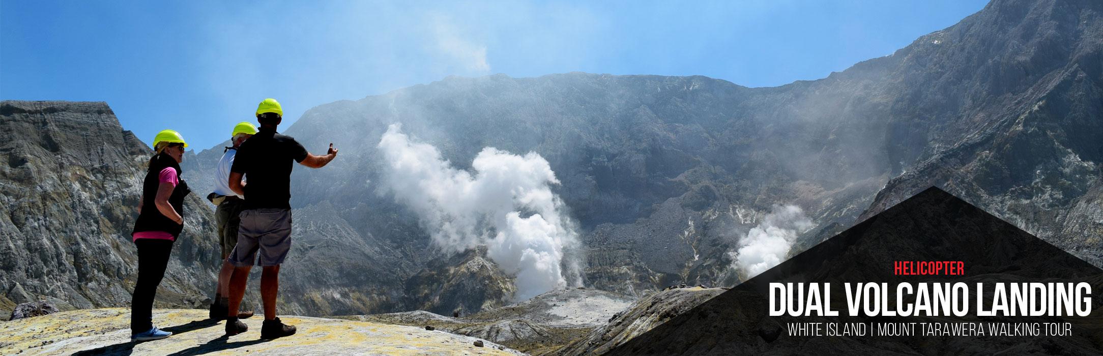 White Island - Volcanic Air Rotorua