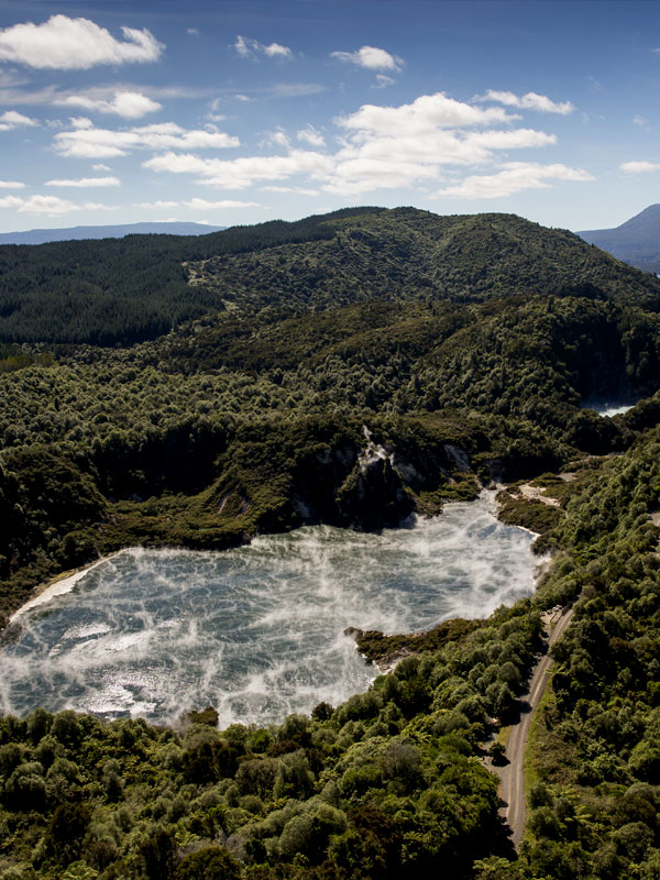 Helicopter Rides Rotorua - Volcanic Air