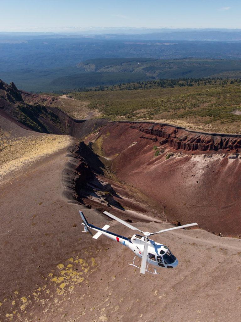 Helicopter Scenic Flights Rotorua - Volcanic Air
