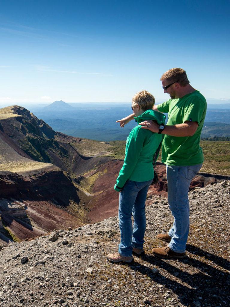Mount Tarawera - Volcanic Air