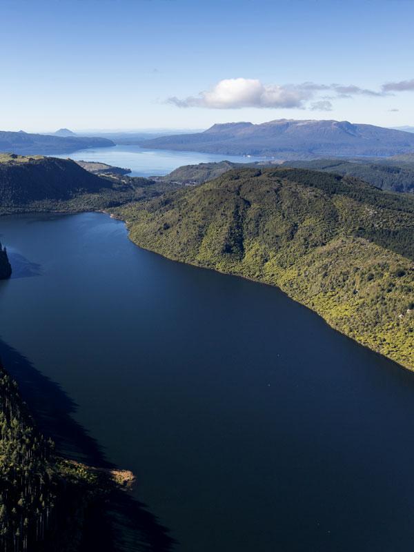 Mount Tarawera Scenic Flights - Volcanic Air