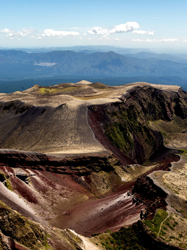 Mt Tarawera Hike - Volcanic Air