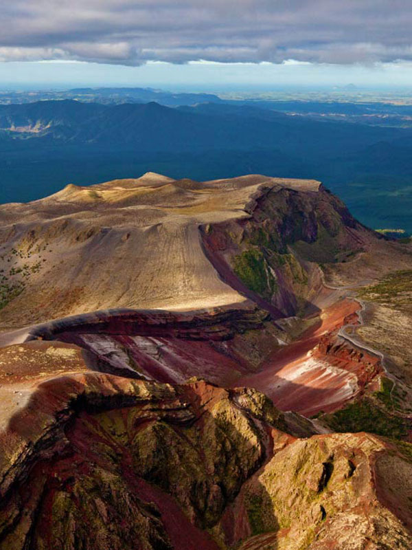 Mt Tarawera Tours - Volcanic Air