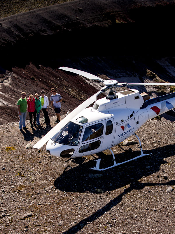 Scenic Flights Mount Tarawera - Volcanic Air