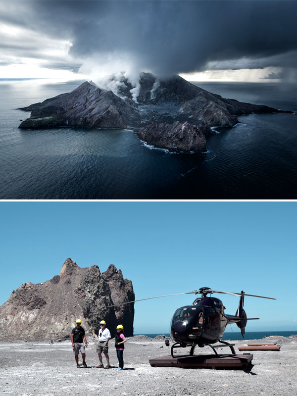 White Island Helicopter Tours - Volcanic Air