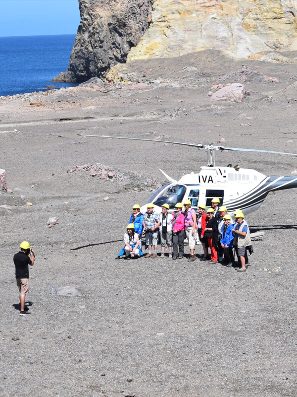 White Island Tours Helicopter - Volcanic Air